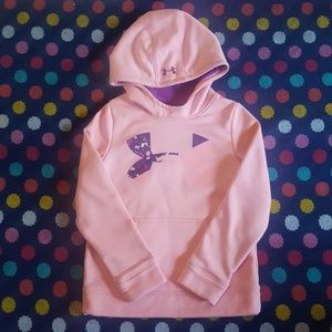 Girls size small Under Armour hoodie
